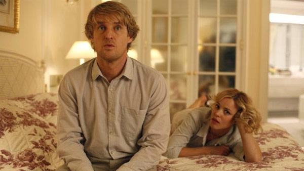 Owen Wilson and Rachel McAdams appear in a scene from the 2011 movie 'Midnight in Paris.'