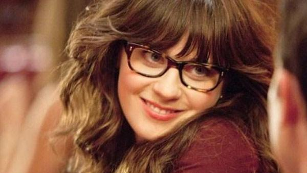 Zooey Deschanel appears in a scene from the FOX series 'New Girl.'