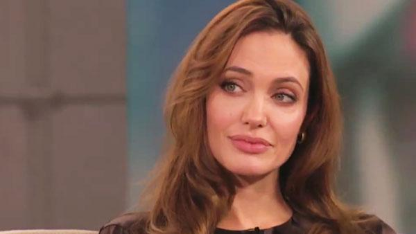 Angelina Jolie appears in an interview on Anderson set to air on December 19, 2011. - Provided courtesy of AP / Anderson
