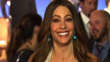 Sofia Vergara appears embarrassed after annnouncing several nominees of the 2012 Golden Globe Awards on Dec. 15, 2011. She mispronounced several names and earned chuckles from the audience, as well as from fellow announcer Woody Harrelson. - Provided courtesy of OTRC