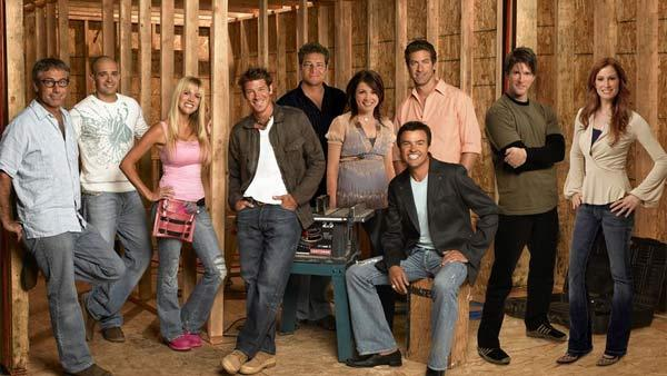 The cast of Extreme Makeover: Home Edition is pictured in this promotional ABC photo. - Provided courtesy of ABC