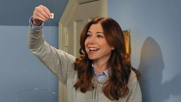 Alyson Hannigan appears in a scene from the CBS sitcom 'How I Met Your Mother' in 2011.