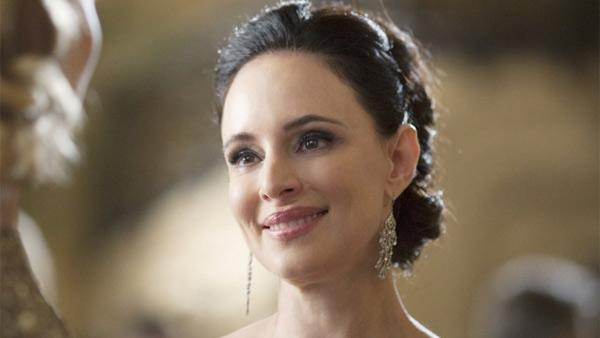 Madeleine Stowe appears in a scene from the ABC show 'Revenge.'