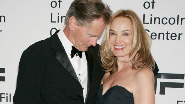 Sam Shepard shares a moment with Jessica Lange at the Film Society of Lincoln Center Gala Tribute to Jessica Lange, Monday, April 17, 2006, in New York. - Provided courtesy of AP / Diane Bondareff
