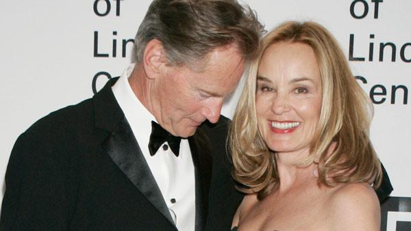 Sam Shepard shares a moment with Jessica Lange at the Film Society of Lincoln Center Gala Tribute to Jessica Lange, Monday, April 17, 2006, in New York.