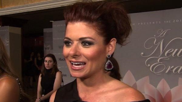 Debra Messing talks to OnTheRedCarpet.com in June 2010.