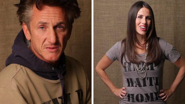 Sean Penn and Soleil Moon Frye star in the actors J/P Haitian Relief Organizations Help Haiti Home PSA campaign in December 2011. - Provided courtesy of J/P Haitian Relief Organization