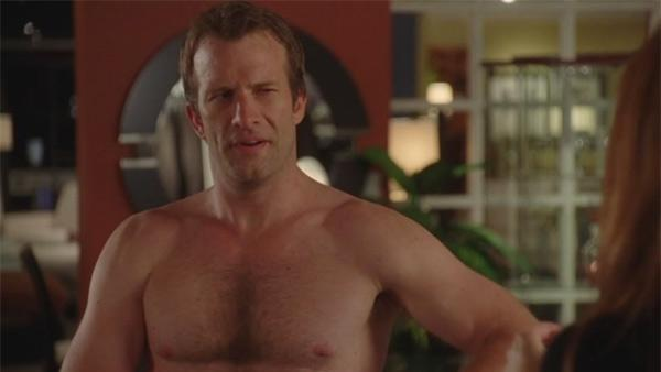 Thomas Jane appears in a scene from the HBO comedy Hung. - Provided courtesy of HBO