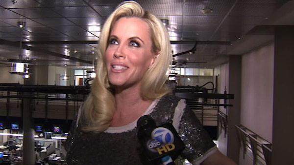 Jenny McCarthy talks to OnTheRedCarpet.coms parent company KABC Television about hosting New Years Rockin Eve, which airs on ABC on Dec. 31, 2011. - Provided courtesy of OTRC