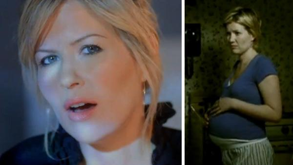 Dido appears in a scene from the 2010 music video 'If I Rise.' / Dido appears in a scene from her and Emimen's 2000 music video 'Stan.'
