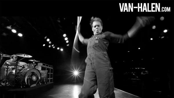 David Lee Roth appears in a video posted on Van Halens website in December 2011. - Provided courtesy of VHTelevision / van-halen.com