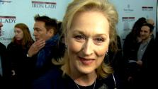 Meryl Streep appears at the premiere of The Iron Lady in December 2011. - Provided courtesy of The Weinstein Company