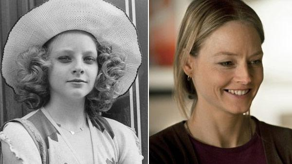 Jodie Foster appeared in the 1976 film 'Taxi' as a young prostitute. / Jodie Foster appears in a scene from the 2011 film 'Carnage.'