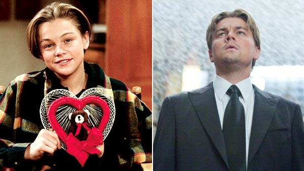 Leonardo DiCaprio appeared in the television show 'Growing Pains' from 1991 to 1992. / Leonardo DiCaprio appears in a scene from the 2010 film 'Inception.'