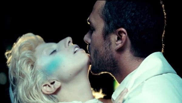 Lady Gaga and Taylor Kinney appear in her 2011 music video for 'You and I.'