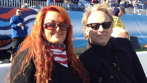 Wynonna Judd and Cactus Moser appear in a photo posted on Judd's official Facebook page on December 12, 2011.
