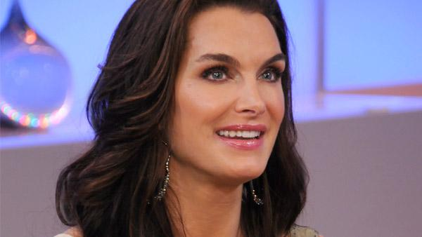 Brooke Shields appears on the ABC show 'Good Morning America' in June 2011.