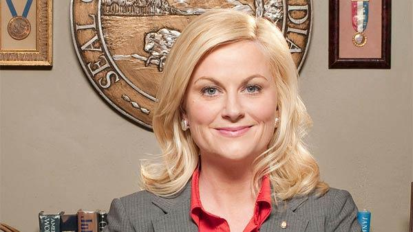 Amy Poehler appears in a p