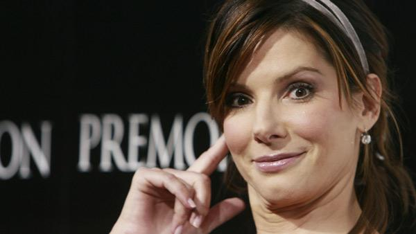 Sandra Bullock arrives at the premiere of 'Premonition' in the Hollywood section of Los Angeles, Monday on March 12, 2007.