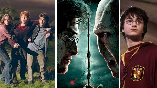 See photos of Daniel Radcliffe, Rupert Grint, Emma Watson and others in all 'Harry Potter' films, from first to last.