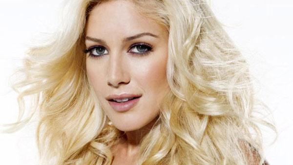 Heidi Montag appears in an undated photo from her official Facebook page.
