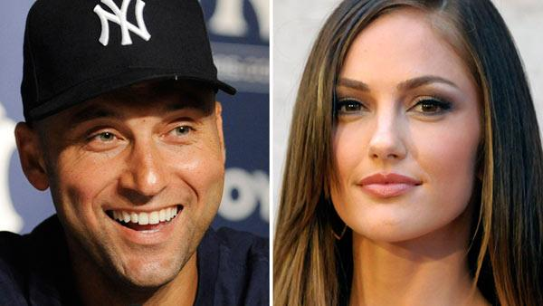 In these 2011 file photos, New York York Yankees Derek Jeter and actress Minka Kelly are shown. - Provided courtesy of AP / Bill Kostroun / Dan Steinberg