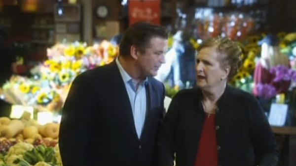 Alec Baldwin and his mother appear in an ad for Wegmans Food Markets in 2010. - Provided courtesy of Wegmans Food Markets