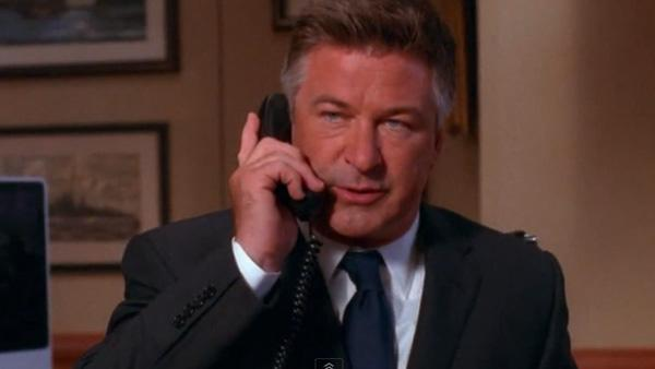 Alec Baldwin appears in a scene from the NBC series '30 Rock.'