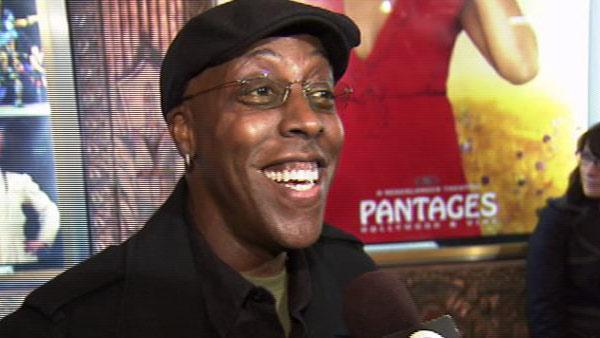 Arsenio Hall talks to OnTheRedCarpet.com about Fantasia Barrino at the opening of the musical The Color Purple in Los Angeles in February 2010. - Provided courtesy of OTRC