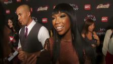 Brandy Norwood talks to OnTheRedCarpet.com at the premiere of the BET hit show The Game on Jan. 5, 2011. - Provided courtesy of none / OTRC