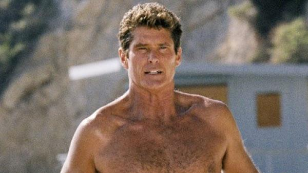 David Hasselhoff appears in a still from Baywatch. - Provided courtesy of NBC