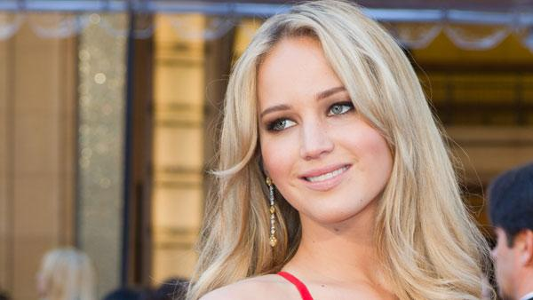 Jennifer Lawrence appears at the 2011 Oscars. - Provided courtesy of Academy of Motion Picture Arts and Sciences