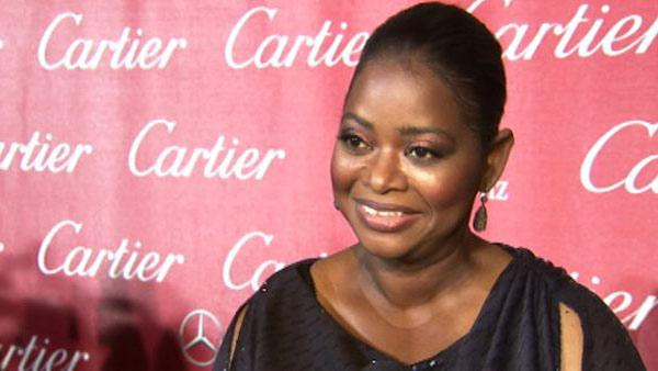 Octavia Spencer talks to OnTheRedCarpet.com at the Palm Springs International Film Festival on Jan. 7, 2012.