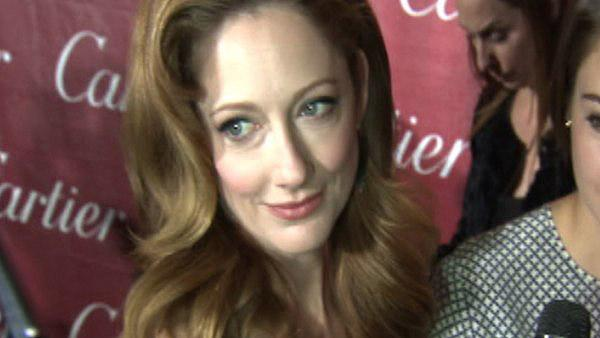 Judy Greer, who appears in the 2011 film 'The Descendants,' appears with her co-stars at the Palm Springs International Film Festival on Jan. 7, 2012.