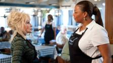 Dolly Parton and Queen Latifah appear in a still from Joyful Noise. - Provided courtesy of none / Alcon Film Fund, LLC / Van Redin