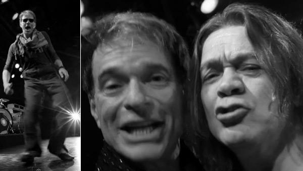 Van Halen appears in the 2012 music video Tattoo. - Provided courtesy of Interscope Records / The Three Twins, LLC
