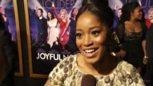 Keke Palmer talks to OnTheRedCarpet.coms George Pennochio at the January 9 premiere of his 2012 film Joyful Noise, which hits theaters January 13. - Provided courtesy of OTRC