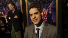 Jeremy Jordan talks to OnTheRedCarpet.coms George Pennochio at the January 9 premiere of his 2012 film Joyful Noise, which hits theaters January 13. - Provided courtesy of none / OTRC