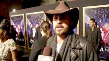 Billy Ray Cyrus talked to OnTheRedCarpet.coms George Pennochio at the premiere for Joyful Noise, in theaters January 13. - Provided courtesy of none / OTRC