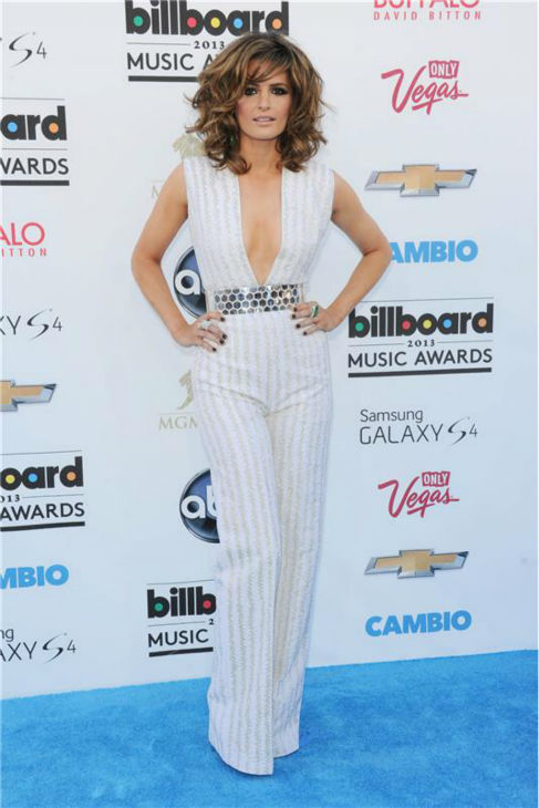 Stana Katic of &#39;Castle&#39; appears at the 2013 Billboard Music Awards in Las Vegas on May 19, 2013. <span class=meta>(Stewart Cook &#47; Startraksphoto.com)</span>