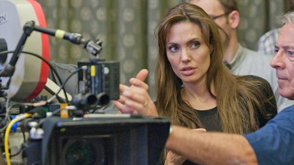 Angelina Jolie appears in a promotional photo for her film In The Land of Blood and Honey in 2011. - Provided courtesy of OTRC / FilmDistrict