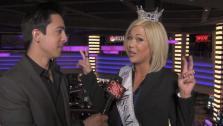 Miss America contestant Elizabeth Wertenberger of North Carolina talks to OnTheRedCarpet.coms Tony Cabrera at Planet Hollywood in Las Vegas. The pageant takes place at the hotel, and airs on Saturday, January 14 at 9pm ET on ABC. - Provided courtesy of OTRC