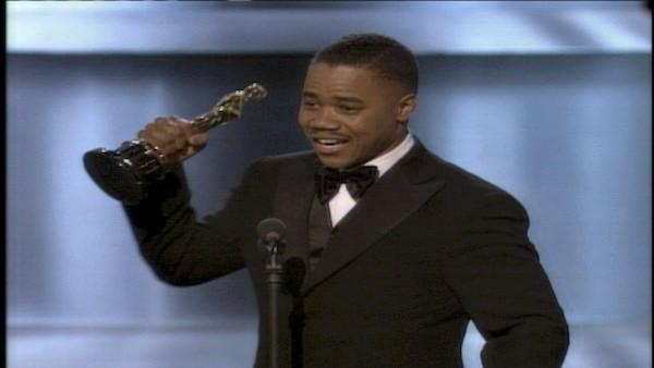 Cuba Gooding Jr. gives enthusiastic speech