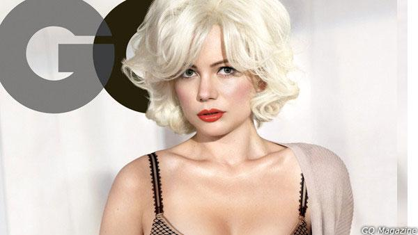 Michelle Williams appears in a spread for GQ magazines February 2012 issue. - Provided courtesy of GQ