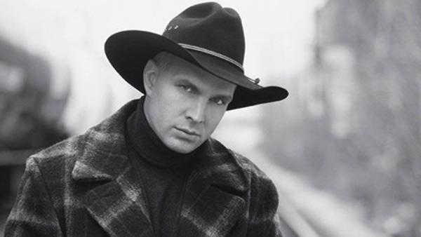 Garth Brooks appears in an undated photo from his official website. - Provided courtesy of GarthBrooks.com