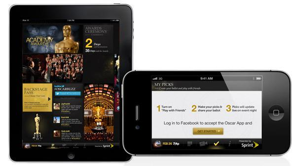 The Oscars app gives movie fans the most exclusive, interactive Oscar Night experience ever.