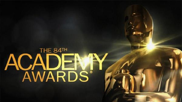 The official logo for the 84th Academy Awards, set to air on ABC on Feb. 26, 2012. - Provided courtesy of Academy of Motion Picture Arts and Sciences