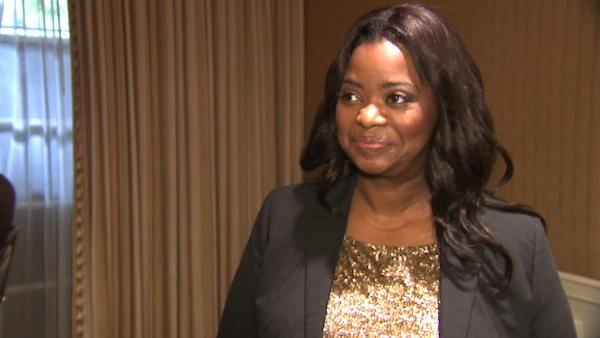 Octavia Spencer dishes on Melissa McCarthy