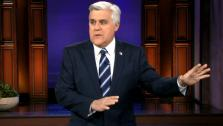 Jay Leno appears in a photo from the Thursday, January 19 episode of The Tonight Show. - Provided courtesy of NBC