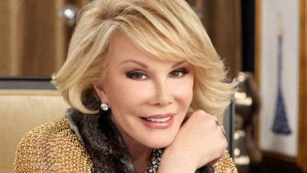 Joan Rivers appears in a promotional photo for Fashion Police in 2012. - Provided courtesy of E!
